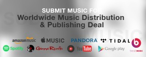 Submit music for distribution